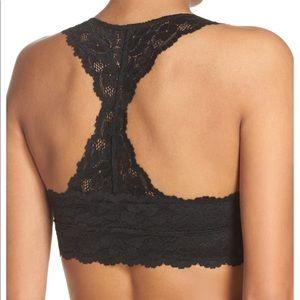 Black Lace Racerback Bralette